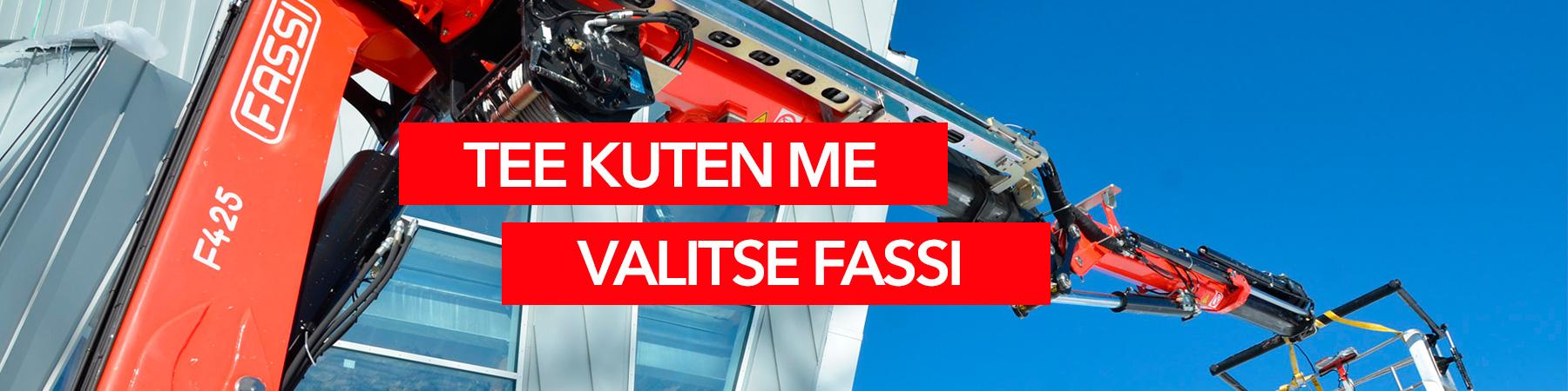 Grutech Oy Fassi-nosturit