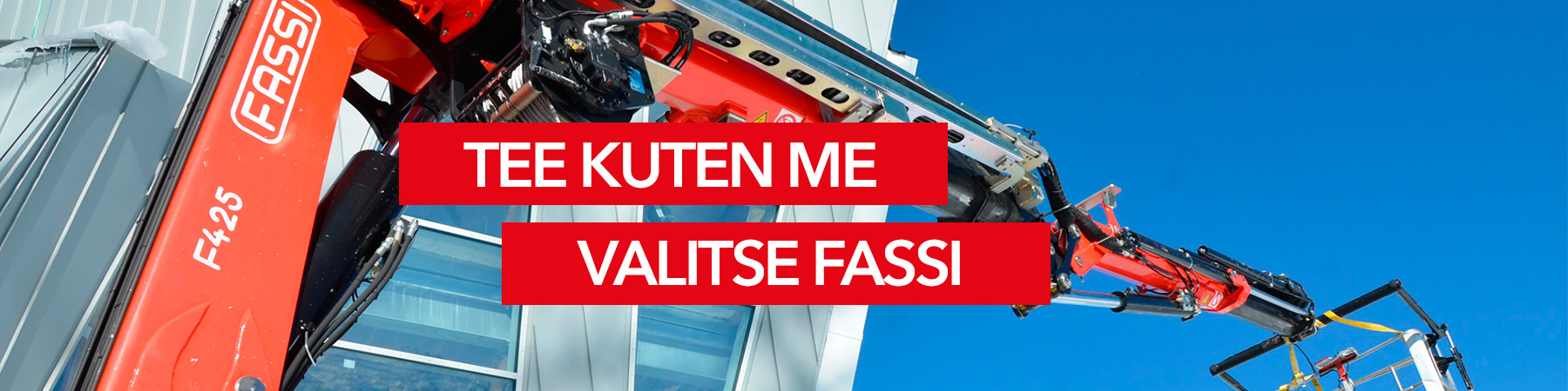 Grutech Oy Fassi-asennusnosturit