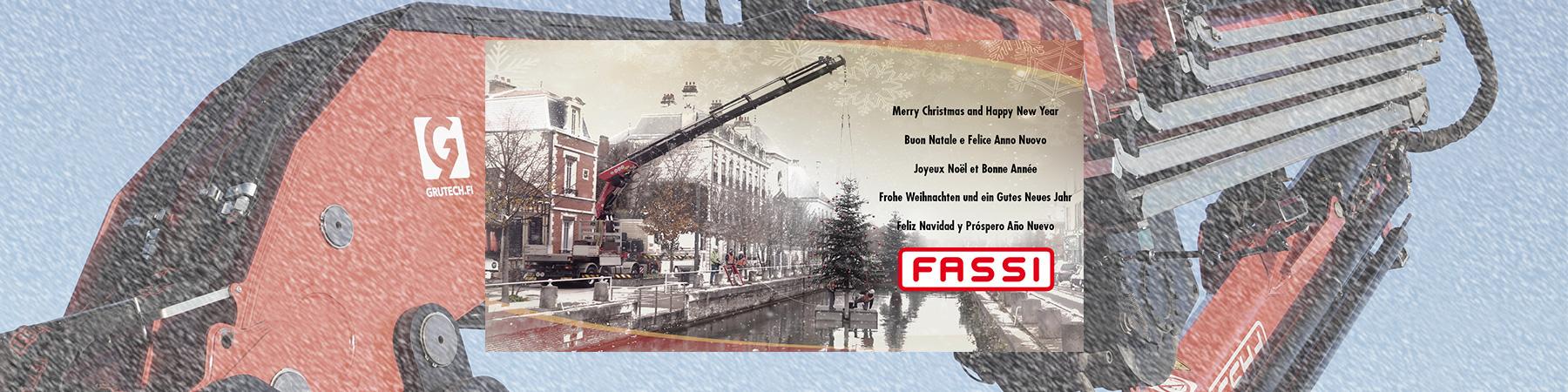 Grutech Fassi joulutervehdys