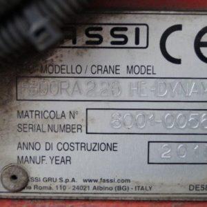 FASSI F800RA vaihtonosturi (5)